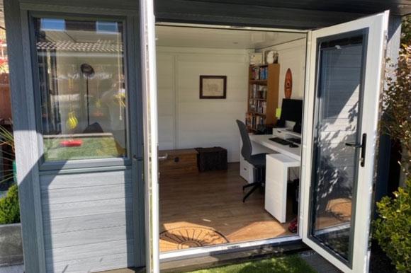 Composite Garden Office Cardiff