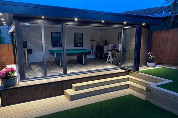 Relaxing Garden Studio Retreats Cardiff